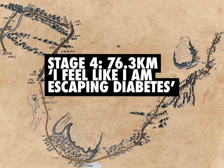 Marathon des Sables type 1 diabetes 16
