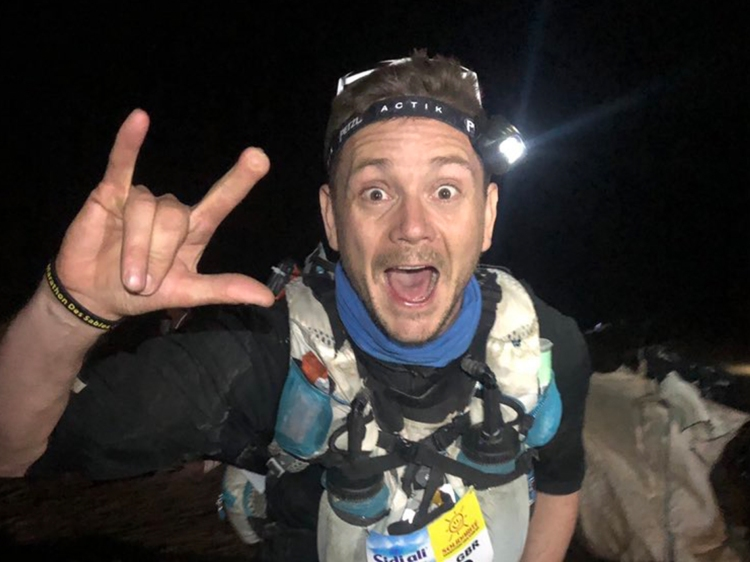 Marathon des Sables type 1 diabetes 25