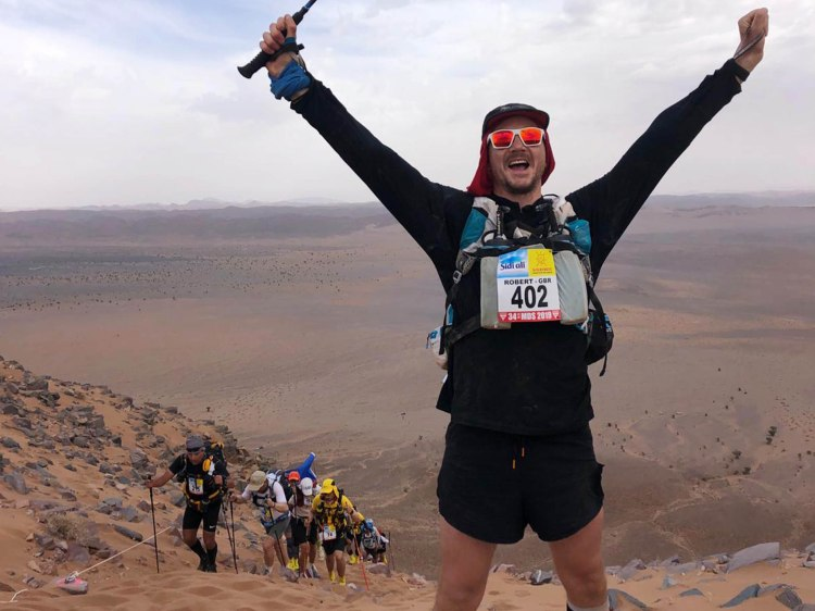Marathon des Sables type 1 diabetes 30