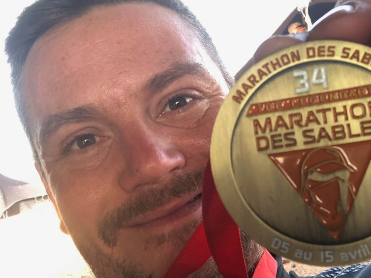 Marathon des Sables type 1 diabetes 35