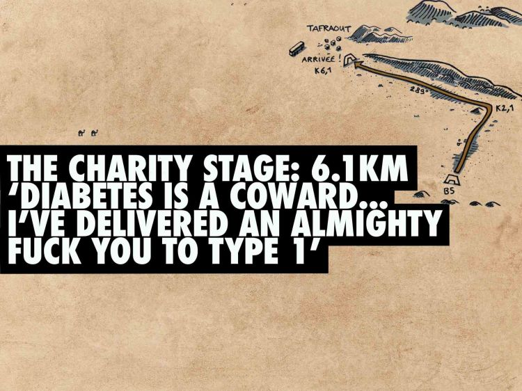 Marathon des Sables type 1 diabetes 36